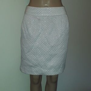 Rebecca Moses silver skirt